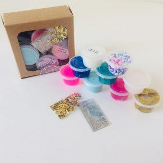 Mermaids Tail Sorbet Slime Mini Box Set